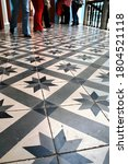 View Of Vintage Tiles At The...
