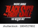 black friday super sale ...   Shutterstock .eps vector #1804527802