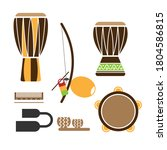 Icon Set Of Afro Brazilian...
