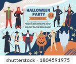 Halloween Party Poster On...