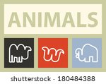 animals | Shutterstock .eps vector #180484388