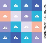 cloud computing icons suitable...