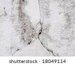 White old wall - stock photo