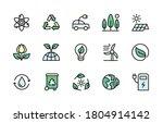 ecology and alternative energy... | Shutterstock .eps vector #1804914142