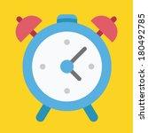vector alarm clock icon
