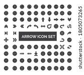 arrows collection. set of... | Shutterstock .eps vector #1805073265