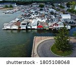 The Beautiful Boathouses On...