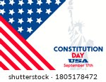 constitution day in united...   Shutterstock .eps vector #1805178472
