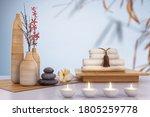 Spa Set With Massage Zen Stone...