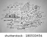 background image with business... | Shutterstock . vector #180533456