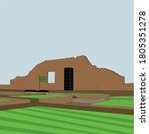 martyred intellectuals memorial ... | Shutterstock .eps vector #1805351278