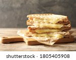Tasty Toast Sandwiches With...