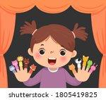 vector illustration cartoon of...   Shutterstock .eps vector #1805419825