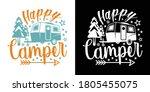 Happy Camper Printable Vector...