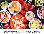 Healthy Halloween Fruit Snacks. ...