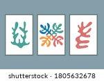 matisse organic scandi poster....   Shutterstock .eps vector #1805632678