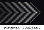 arrow line elements pattern... | Shutterstock .eps vector #1805765212