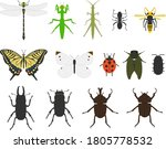 insect illustration set... | Shutterstock .eps vector #1805778532