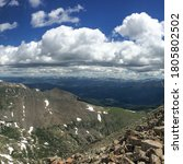 Small photo of Views from Mount Quandary, Rocky Mountains Colorado
