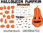 Halloween Pumpkin Character...