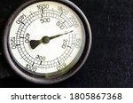 Close Up Of Large Tachometer...