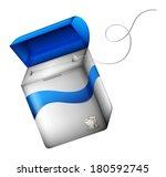 illustration showing a dental... | Shutterstock .eps vector #180592745