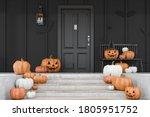 Carved Pumpkins  Bats And...