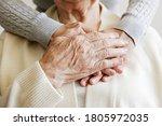 Mature Female In Elderly Care...
