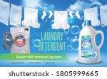 laundry detergent realistic...   Shutterstock .eps vector #1805999665
