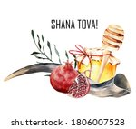 Jewish Holiday Rosh Hashana...