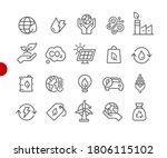 ecology   renewable energy... | Shutterstock .eps vector #1806115102
