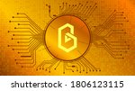band protocol cryptocurrency...   Shutterstock .eps vector #1806123115