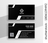 professional black and white... | Shutterstock .eps vector #1806139492