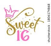 Sweet Sixteen  16th  Birthday...