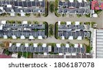 aerial drone. real estate view | Shutterstock . vector #1806187078