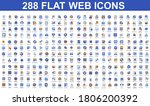 bundle vector flat icons...