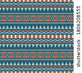 seamless vector pattern with... | Shutterstock .eps vector #1806208555