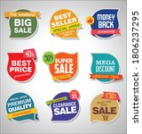 modern sale stickers and tags... | Shutterstock . vector #1806237295