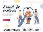 website banner mockup for... | Shutterstock .eps vector #1806243505