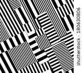 seamless lines pattern  | Shutterstock . vector #180630806