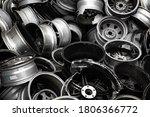 A Scrap Of Old Aluminum Wheels...