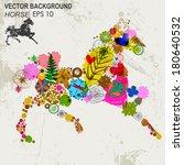 abstract background vector | Shutterstock .eps vector #180640532