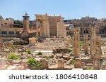 Baalbek Temple Complex In...