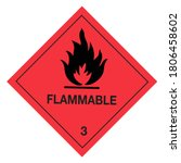 Ghs Pictogram Flammable Class ...