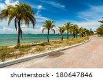 Pretty Beach Along The...