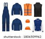 Workwear Uniform And Worker...