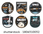 galaxy research  space explore... | Shutterstock .eps vector #1806510052