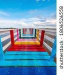 Rainbow Bridge And Seaside...