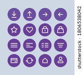 web icon linear version ui...