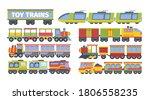 Trains Toy Set. Stylish...